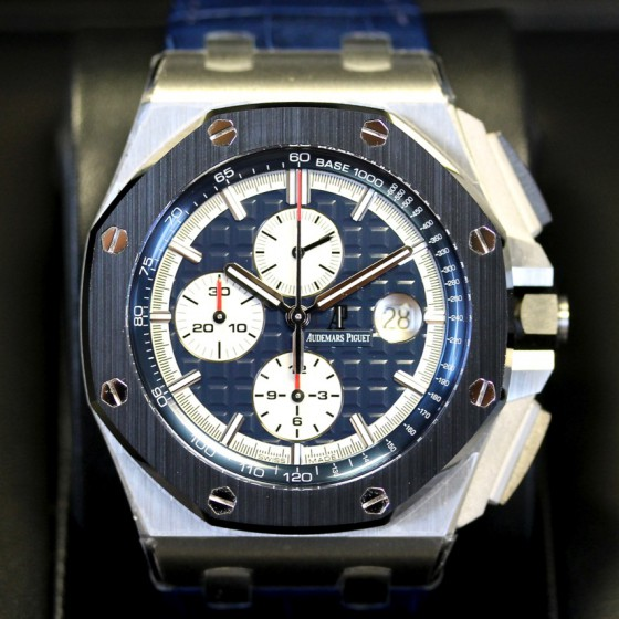 Audemars Piguet Royal Oak Offshore 26401PO.OO.A018CR.01 'Ceramic & Platinum' image 2