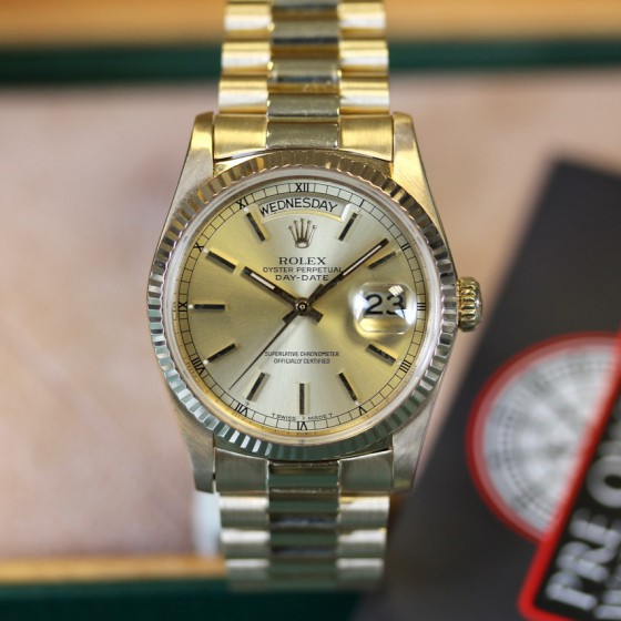 Rolex Day Date 18038 image 2