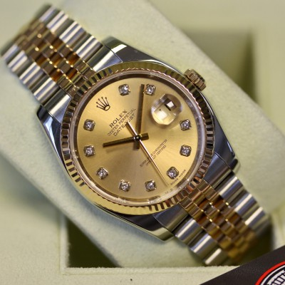 Rolex Datejust 116233 'Champagne Diamond'