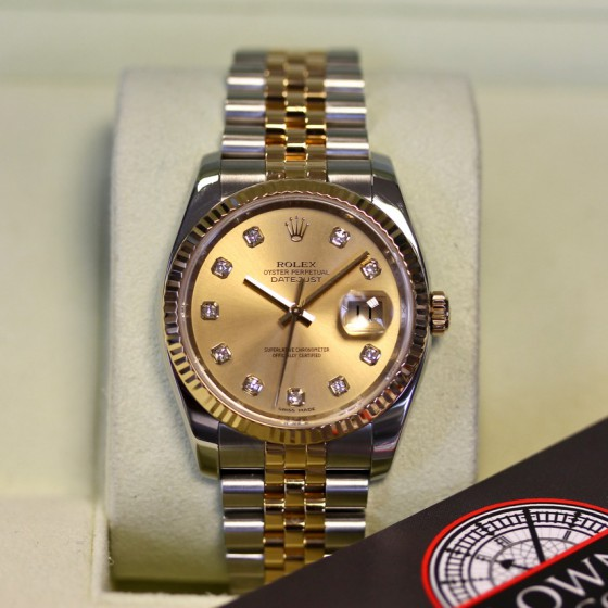 Rolex Datejust 116233 'Champagne Diamond' image 2