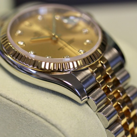 Rolex Datejust 116233 'Champagne Diamond' image 3