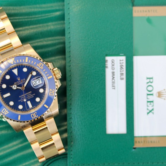 Rolex Submariner 116618LB 'Available to order' image 4