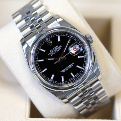 Rolex Datejust 116200  ''Black Baton''