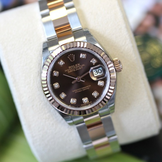 Rolex Datejust 279171 'Chocolate Diamond' image 4