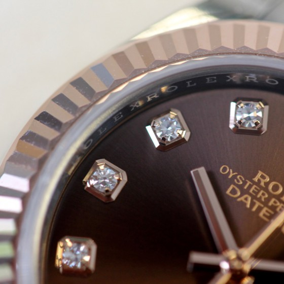Rolex Datejust 279171 'Chocolate Diamond' image 3