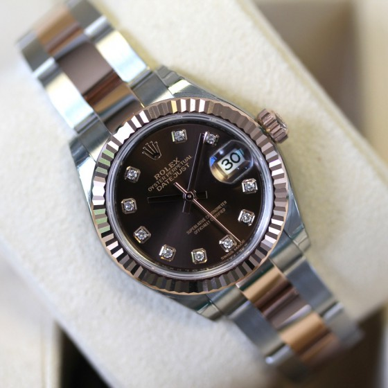Rolex Datejust 279171 'Chocolate Diamond' image 1
