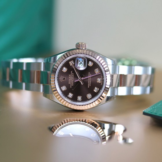 Rolex Datejust 279171 'Chocolate Diamond' image 5