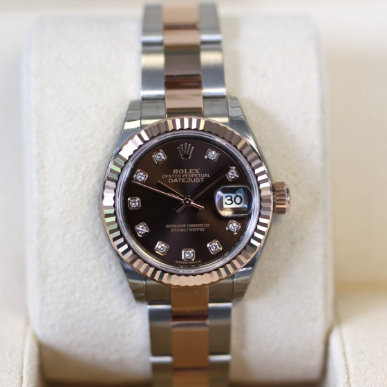 Rolex Datejust 279171 'Chocolate Diamond' image 2