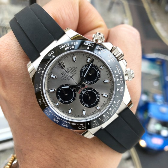 Rolex Daytona 116519LN 'Ghost Oysterflex Available to Order' image 1
