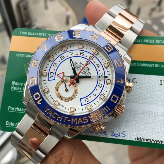 Rolex Yacht Master II 116681 ''Immaculate condition'' image 1