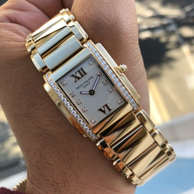 Patek Philippe Twenty-Four 4910/11R-011 ''Rose Gold & Diamonds' '