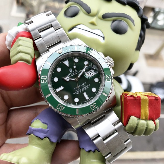 Rolex Submariner 116610LV 'Immaculate condition HULK' image 1