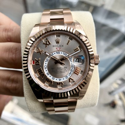 Rolex Sky Dweller 326935 '' Discontinued Sun Kiss Dial ''