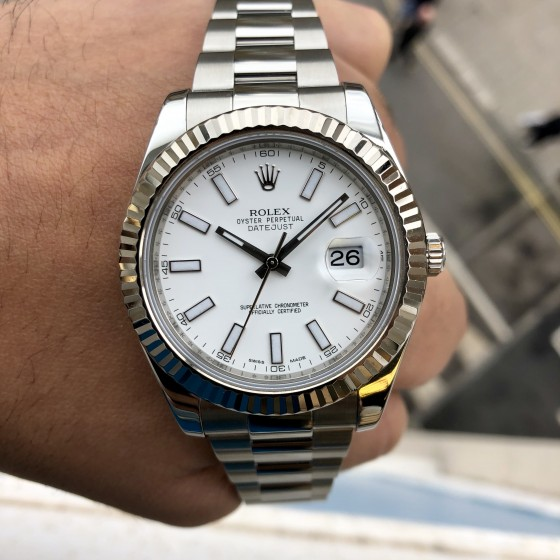 Rolex Datejust II 116334 'Box & Papers' image 1