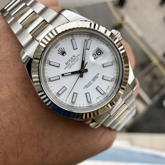 Rolex Datejust II 116334 'Box & Papers' image 4