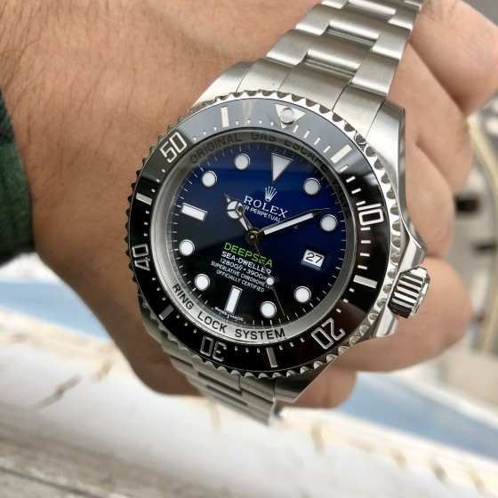Rolex Sea Dweller DEEPSEA 116660 'James Cameron' image 4