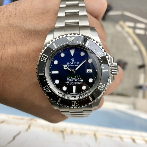Rolex Sea Dweller DEEPSEA 116660 'James Cameron' image 3