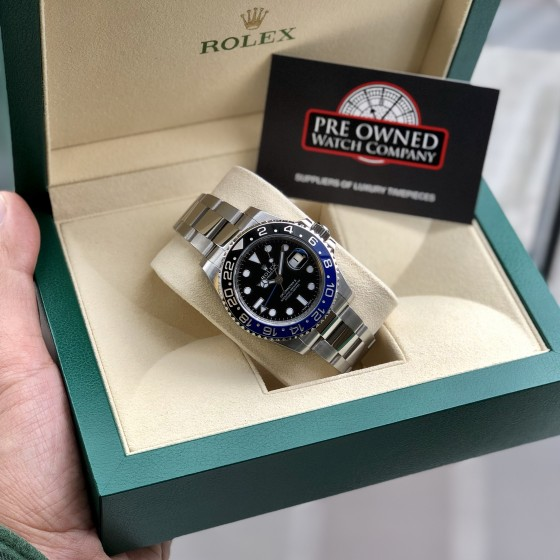 Rolex GMT Master II 116710BLNR 'Discontinued Batman ' image 2