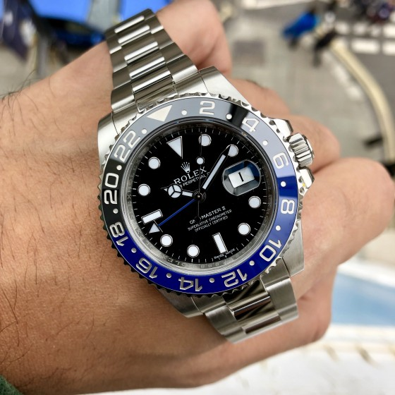 Rolex GMT Master II 116710BLNR 'Discontinued Batman ' image 4