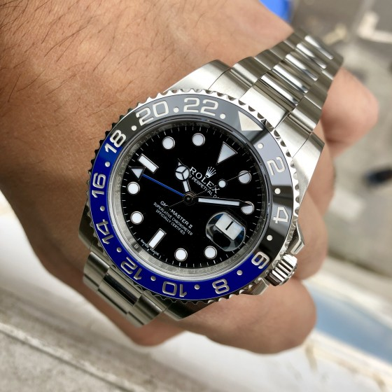 Rolex GMT Master II 116710BLNR 'Discontinued Batman ' image 3