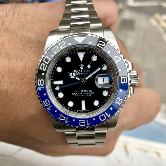 Rolex GMT Master II 116710BLNR 'Discontinued Batman ' image 1