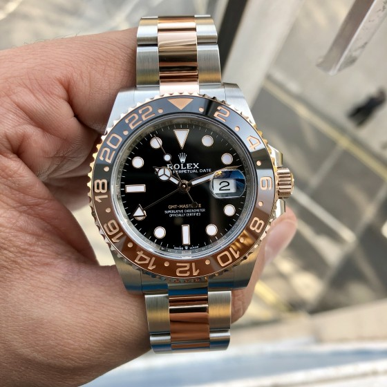 Rolex GMT Master II 126711CHNR 'Root Beer ' image 3