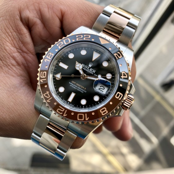 Rolex GMT Master II 126711CHNR 'Root Beer ' image 2