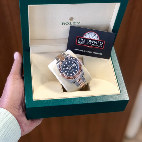 Rolex GMT Master II 126711CHNR 'Root Beer ' image 1