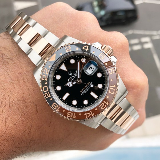 Rolex GMT Master II 126711CHNR 'Root Beer ' image 4