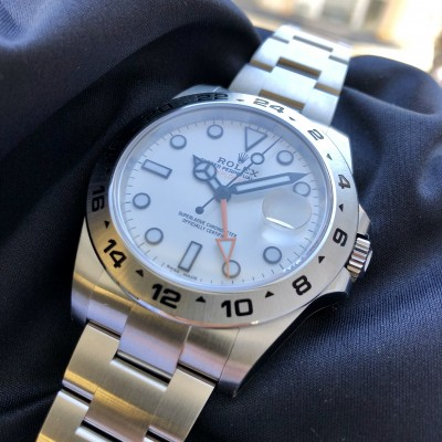 Rolex Explorer II 216570 'Available to order'