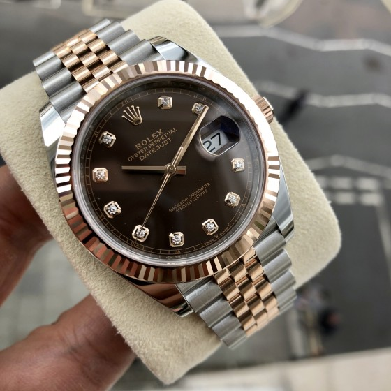 Rolex Datejust 126331 'Chocolate & Diamonds 41mm' image 3