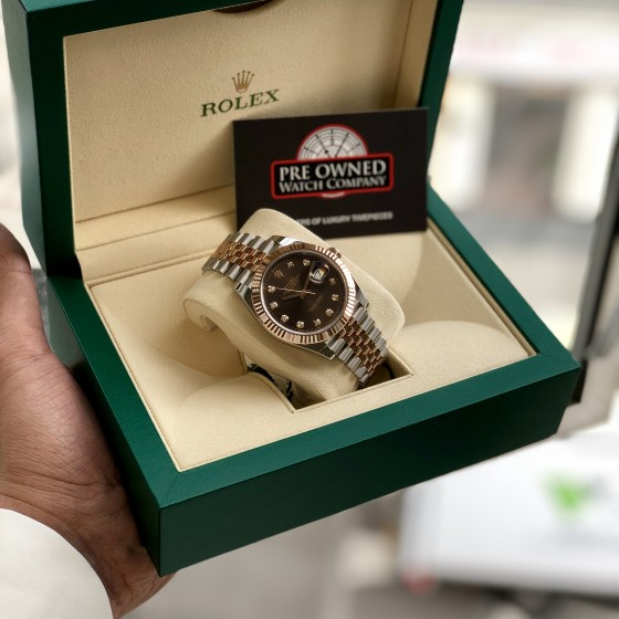 Rolex Datejust 126331 'Chocolate & Diamonds 41mm' image 2