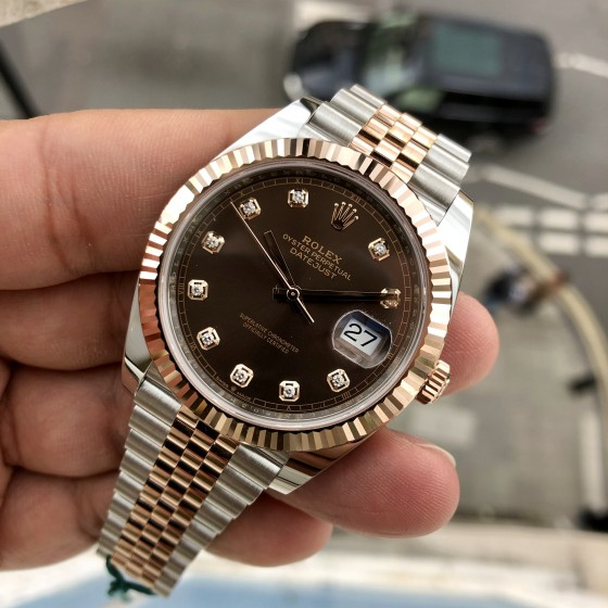Rolex Datejust 126331 'Chocolate & Diamonds 41mm' image 4