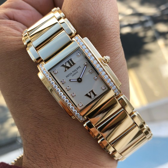 Patek Philippe Twenty-Four 4910/11R-011 ''Rose Gold & Diamonds' ' image 1